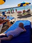 Leka lite på playan :)