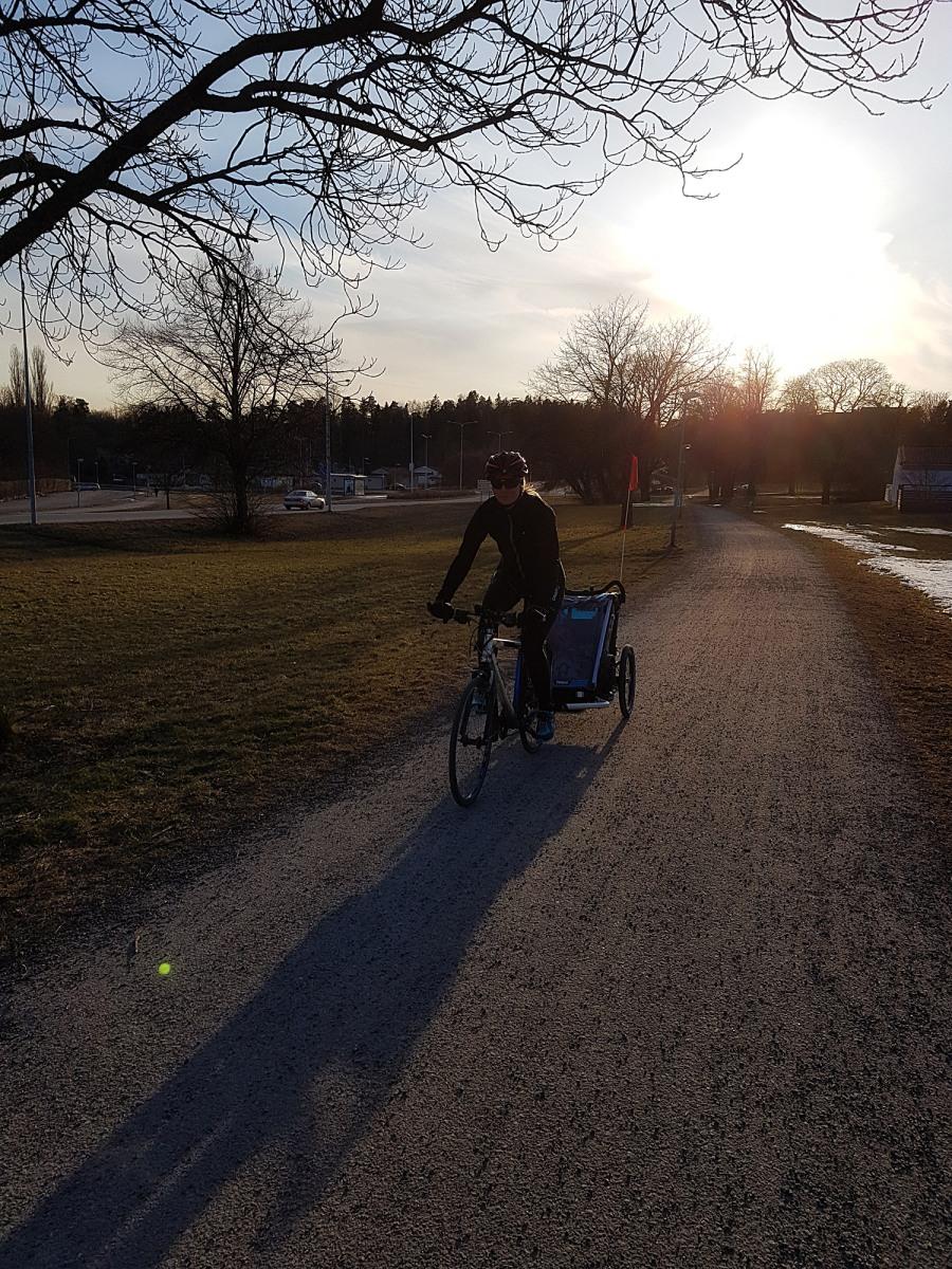 Påsken med cykelvagn